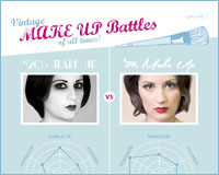 Vintage Make Up Battles of all times! Ep1 Anni '20 vs Anni 50